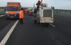 Lucrări de reparaţii finalizate pe o porţiune de pe Autostrada Soarelui