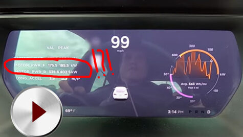 Video: Tesla Model S Performance Cheetah Mode