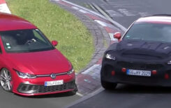 Video: viitoarele Kia Stinger GT și VW Golf GTI TCR pe Nurburgring
