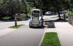 Vehiculul electric autonom pentru firme de curierat