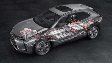 Lexus UX 300e are garanție pentru acumulator 10 ani/1 milion km!