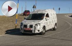 Viitoarea Dacia Dokker spionată în teste. Video