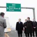 Trafic rutier deschis pe Varianta de Ocolire Bacău, cu un tronson de 17 km parte din Autostrada A7